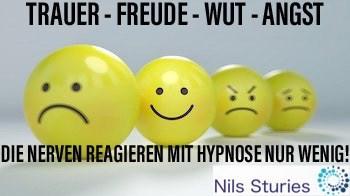 Nils Sturies Trauer Freude Angst Wut Die Nerven reagieren mit Hypnose wenig