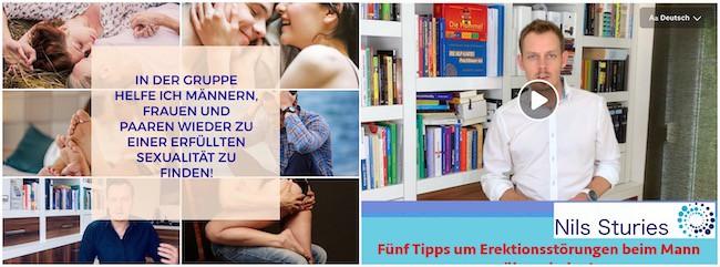 Facebook Gruppe Wie du als Mann/Paar wieder zu einer erfüllten Sexualität findest!